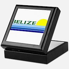 Unique Belize Keepsake Box