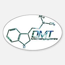 DMT Molecule Blue Decal