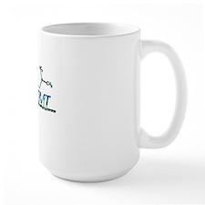 DMT Molecule Blue Mug