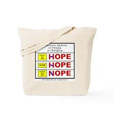 Hope to Nope Tote Bag