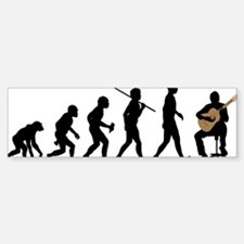 Classical-Guitar Bumper Bumper Sticker