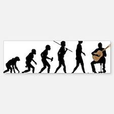 Classical-Guitar Sticker (Bumper)