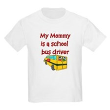 My Mommy Is A School Bus Driv Kids T-Shirt