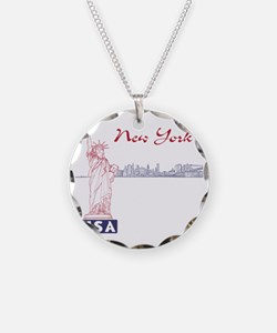 NY_10x10_Skyline_Statue_Blue Necklace
