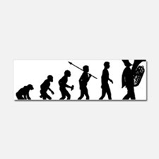 Marching-Band---Tuba Car Magnet 10 x 3