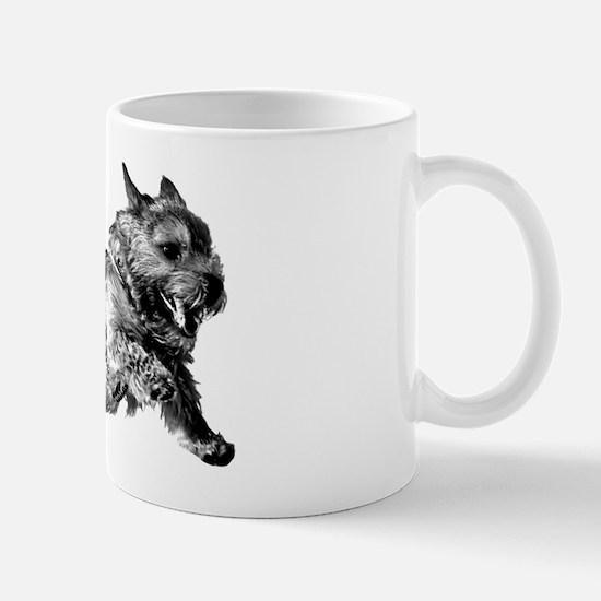 Running Norwich Terrier Male Mug