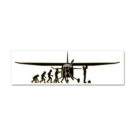 Aircraft-Technician3 Car Magnet 10 x 3