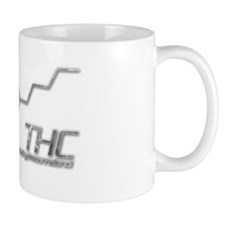 THC Molecule Smoke for dark materials Mug