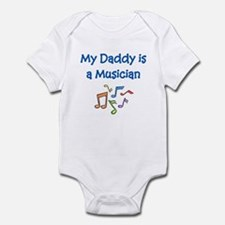 My Daddy Is A Musician Infant Bodysuit