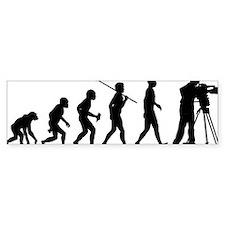 Cameraman Bumper Sticker