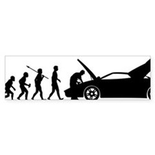 Car-Mechanic Bumper Sticker