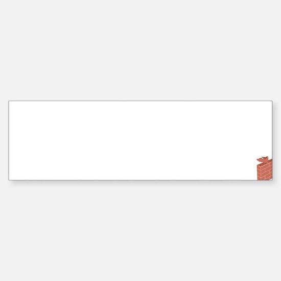 Bricklayer1 Sticker (Bumper)
