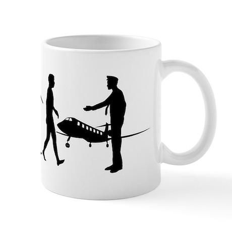 Business-Jet-Pilot2 Mug