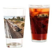 Irish Peat Bog Railway Shannonbridg Drinking Glass