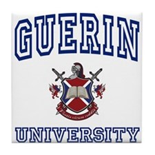 GUERIN University Tile Coaster