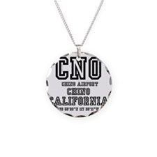 AIRPORT JETPORT  CODES - CHO Necklace