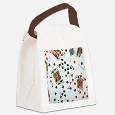 Playing Cards Canvas Lunch Bag