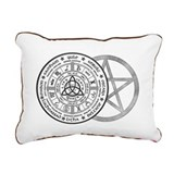 Wheel of the year Rectangle Canvas Pillows