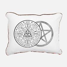 Year Wheel Rectangular Canvas Pillow