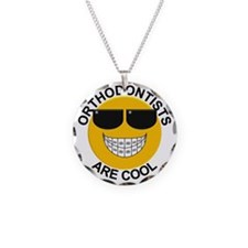 Orthodontists Are Cool Necklace Circle Charm