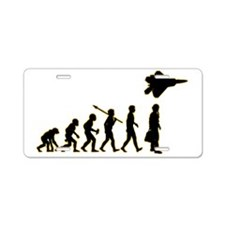 Fighter-Pilot3 Aluminum License Plate