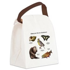 Oregon State Animals Canvas Lunch Bag