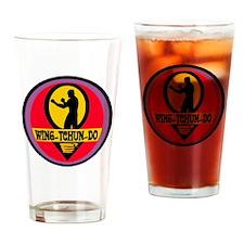 WTD Black Drinking Glass