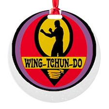 WTD Black Ornament