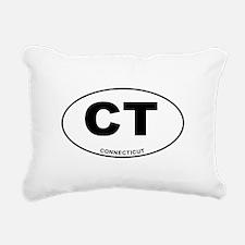 Connecticut State Rectangular Canvas Pillow
