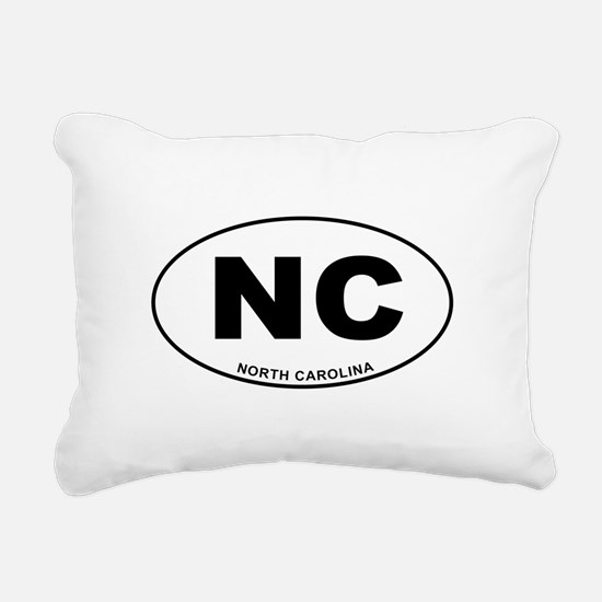 North Carolina State Rectangular Canvas Pillow