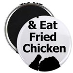 Keep Calm & Eat Fried Chicken Magnets