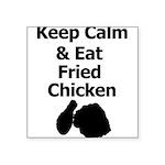Keep Calm & Eat Fried Chicken Sticker