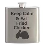 Keep Calm & Eat Fried Chicken Flask