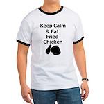 Keep Calm & Eat Fried Chicken T-Shirt