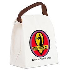 WTD Black Canvas Lunch Bag