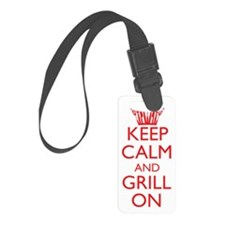 GrillOnred2 Luggage Tag