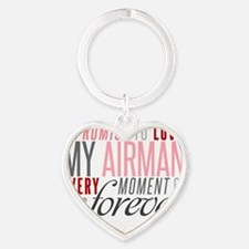 I Promise to love my Airman Heart Keychain