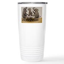 Elephants having tea party Travel Mug