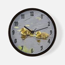 2 Goslings Wall Clock