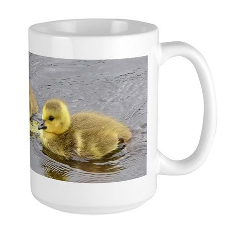 2 goslings Large Mug