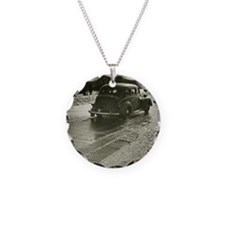 Car on road Necklace