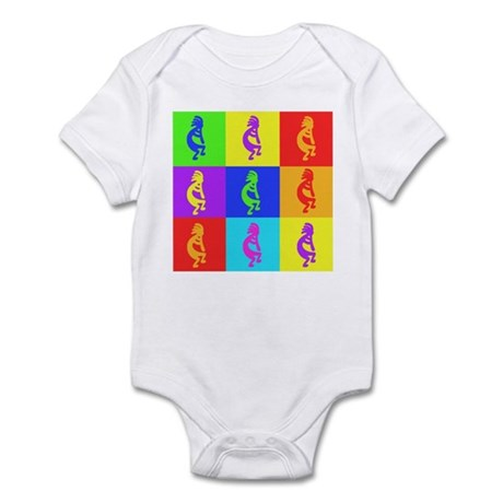 Buy Kokopelli Warhole Design Infant Bodysuit