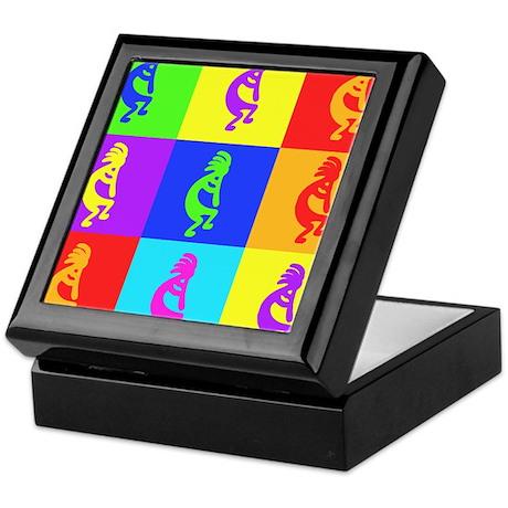 Buy Kokopelli Warhole Design Keepsake Box