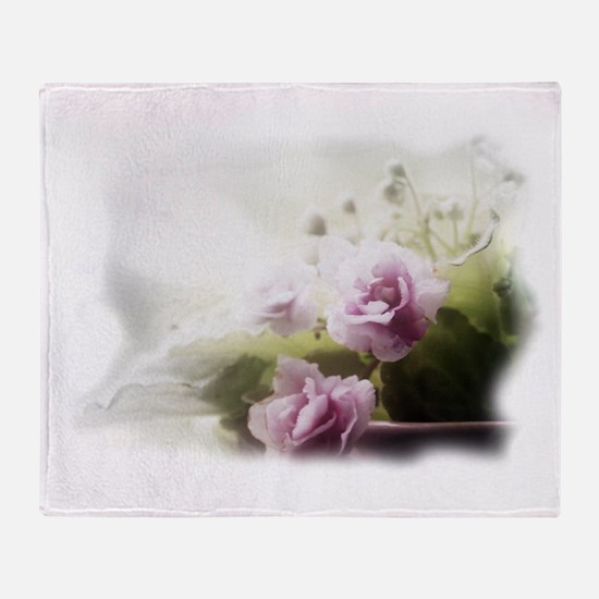 Violet ~Faithfully~ Throw Blanket