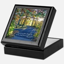 Direct your paths... Keepsake Box
