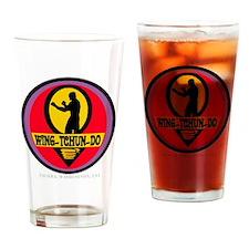 WTD WHT Drinking Glass