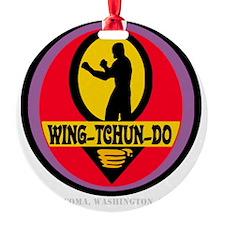 WTD WHT Ornament