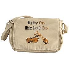 Big Boys Harley Black Messenger Bag