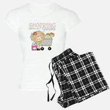 Shopping with Grandma Pajamas