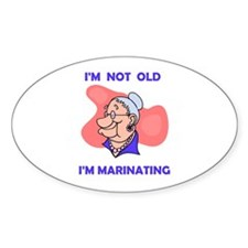 MARINATING Oval Decal
